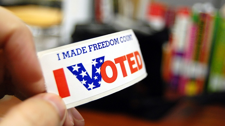 In California, 21 million people are registered to vote this year. Photo by Kelley Minars (CC BY-SA 2.0). This year, 21 million people are registered in the state.