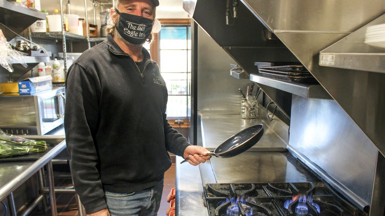 Paul Bullock loves cooking with natural gas. He owns the Eagle Inn, a bed and breakfast in Santa Barbara just a few blocks away from the wharf.