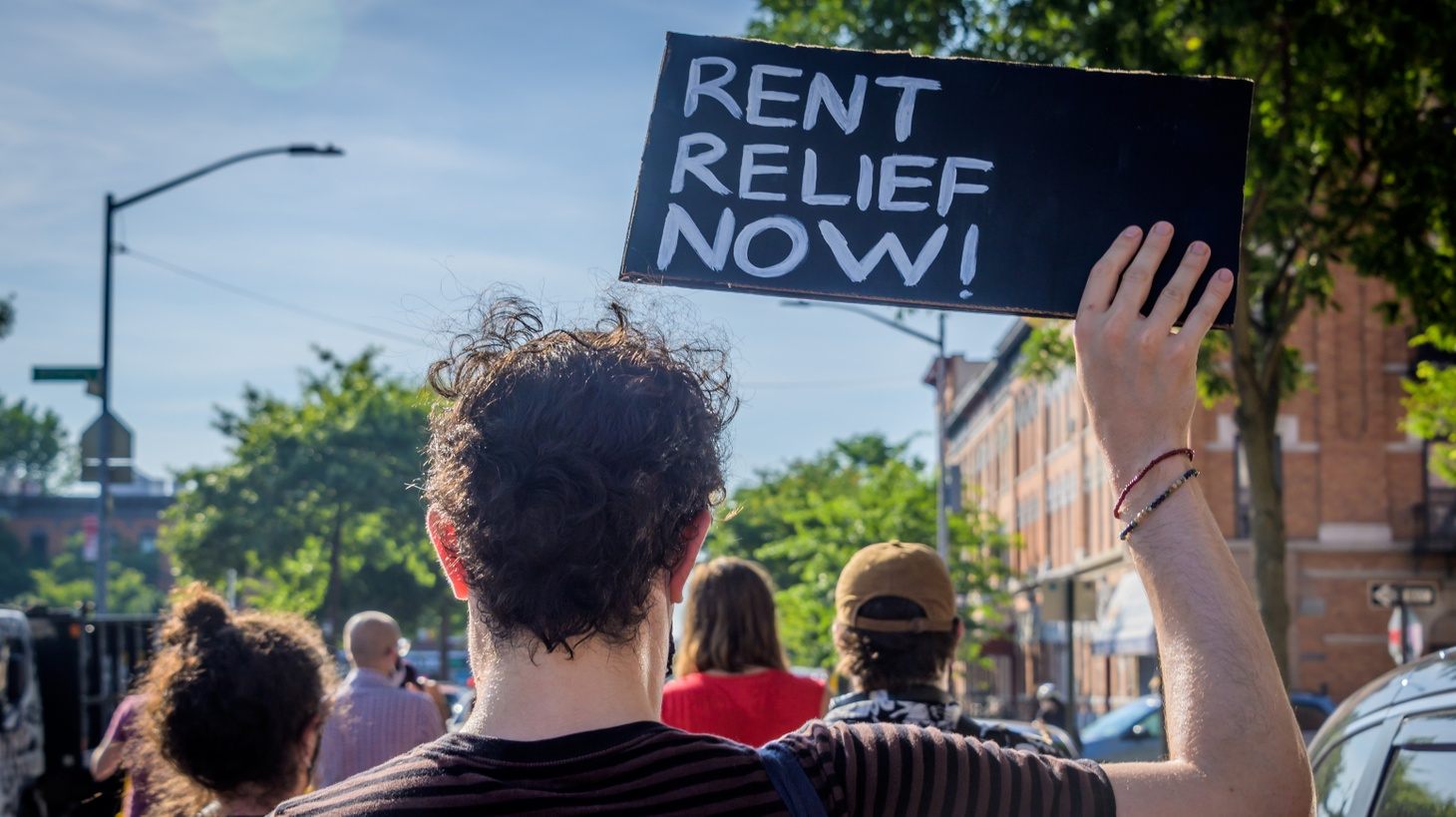 Many Angelenos have lost work during the COVID-19 pandemic, and they're struggling to pay rent. There's a temporary moratorium on evictions, and a new rent relief program. But housing experts say many renters will still be in trouble down the line.