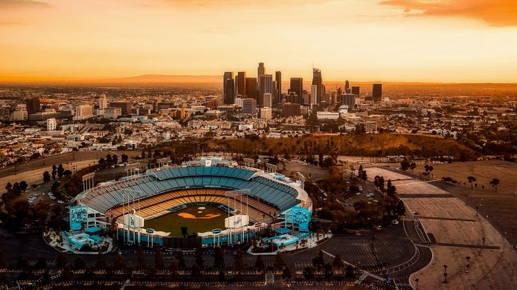 It's opening day for major league baseball, and Dodgers fans are hoping for a repeat of their World Series win.