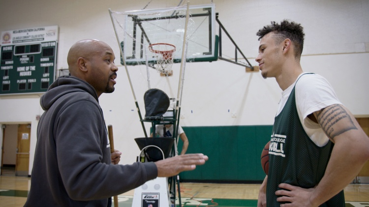 "Netflix's ""Last Chance U"" is now featuring the men's basketball team at East Los Angeles College — the talented but struggling young players and their inspirational head coach."