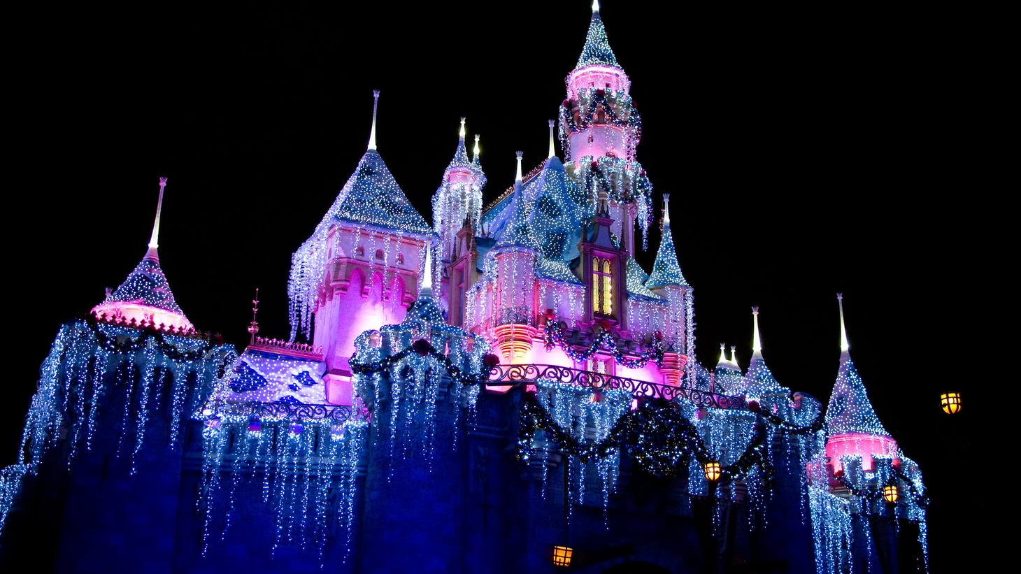 Disneyland is usually lit up for Christmas, but the park will be closed this year due to the coronavirus pandemic.