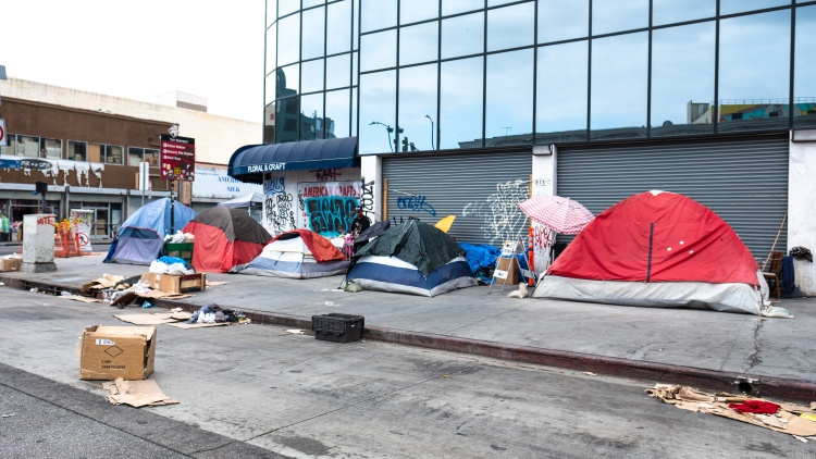 Folks who are unhoused in LA are particularly vulnerable to COVID-19.