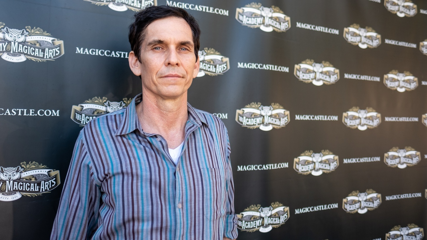 Rob Zabrecky at the Magic Castle.