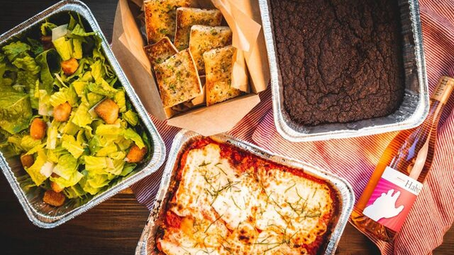 Secret Lasagna and Market offers takeout and delivery, and provides food to struggling restaurant workers.