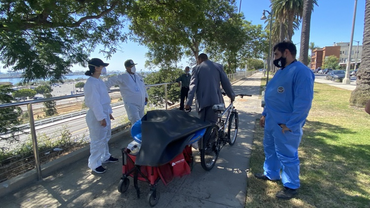 Homeless encampment cleanups resume in some parts of LA