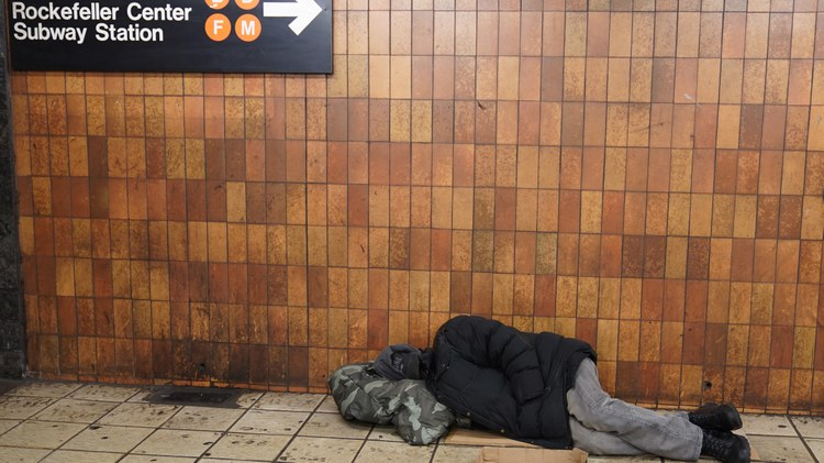 Will LA adopt New York's approach to homeless shelters?