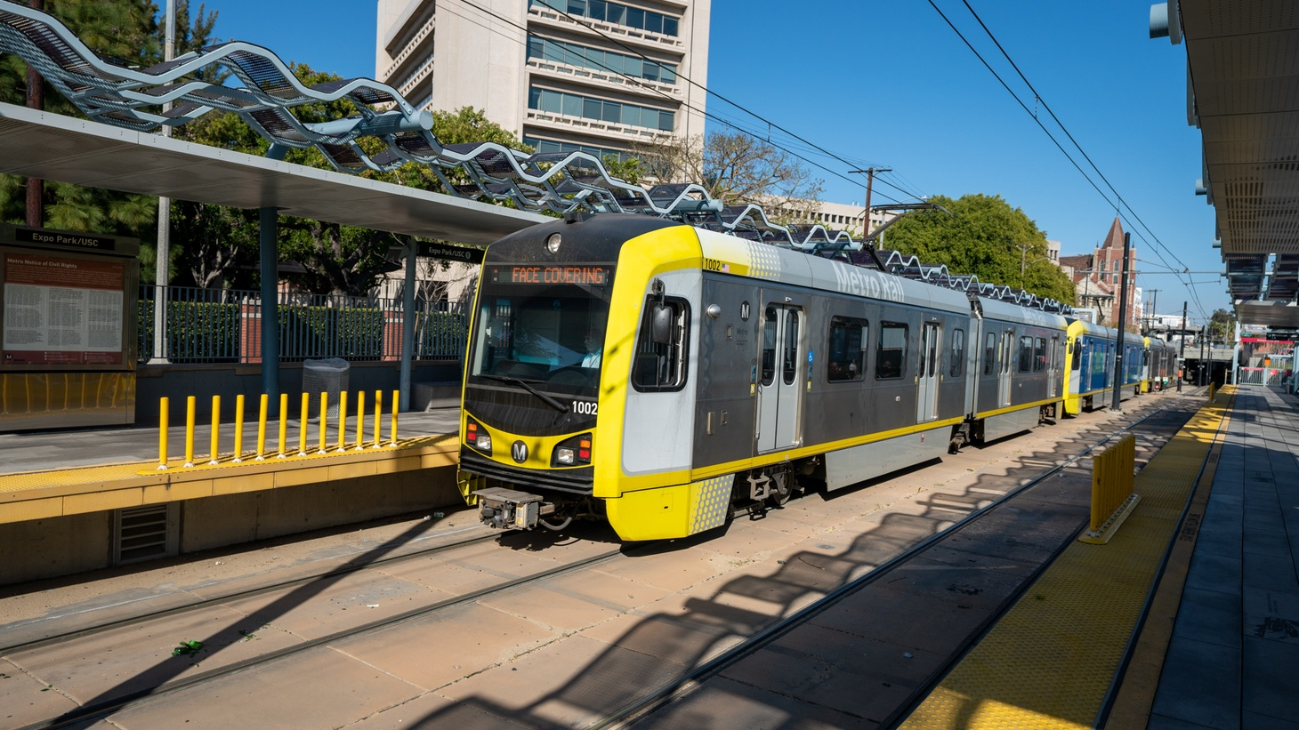 Want to learn more about your city? Consider taking an immersive adventure along the Metro Expo line, with the help of a new audio play series called Chalk Lines.