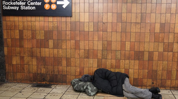 In New York City, more people are experiencing homelessness than in all of LA County, according to the most recent counts.