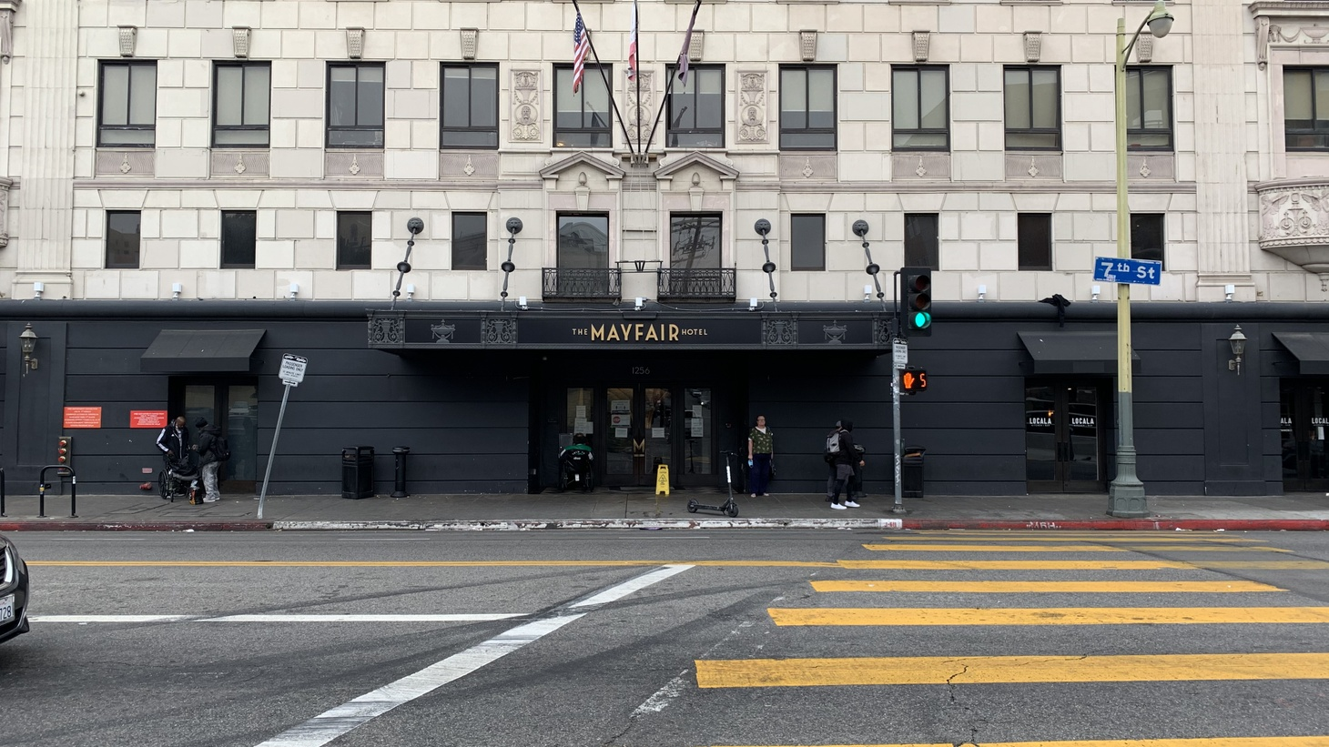 The Mayfair Hotel in Westlake is one of 16 hotels currently participating in Project Roomkey.