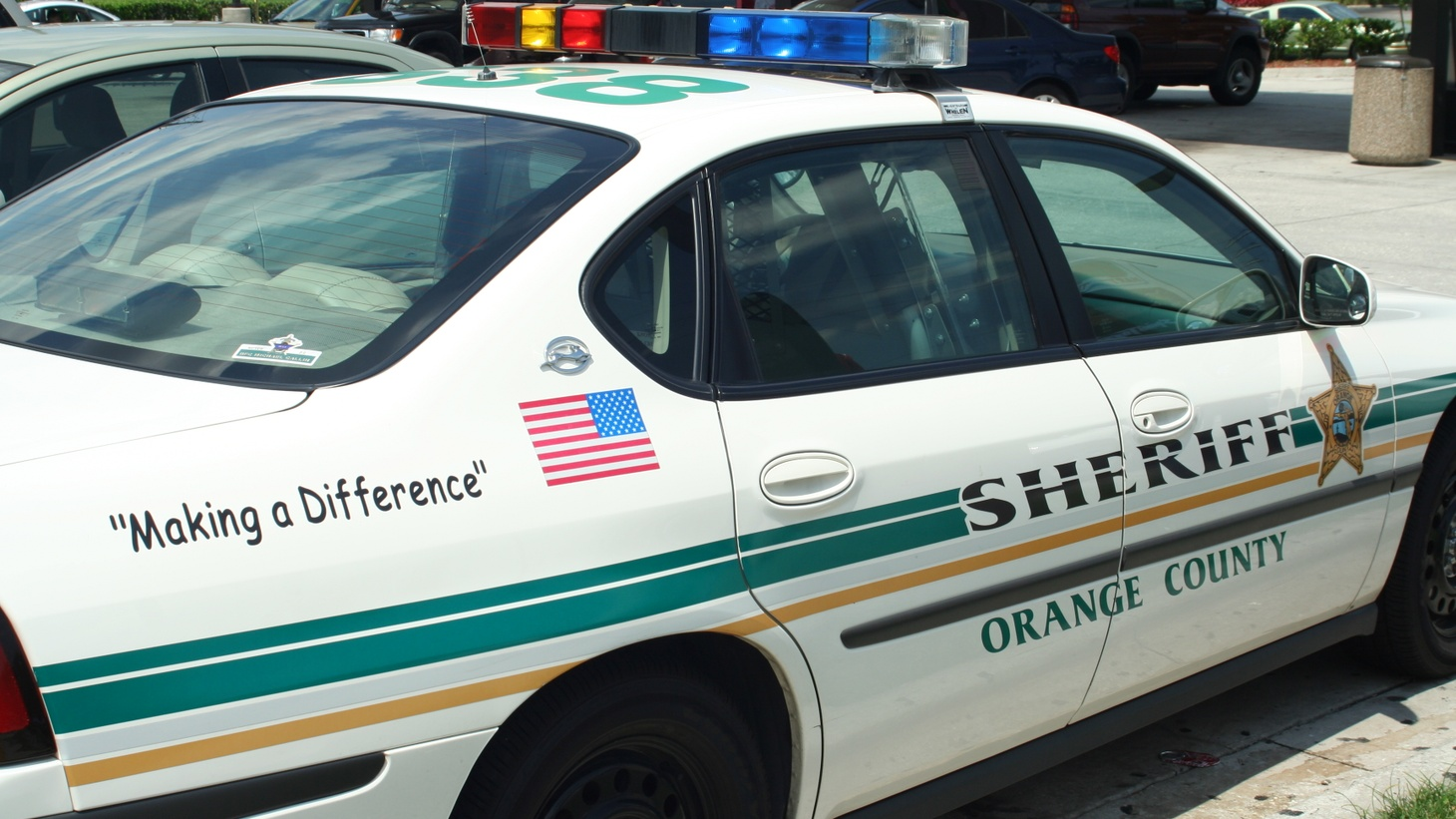 Orange County Sheriff's Department car