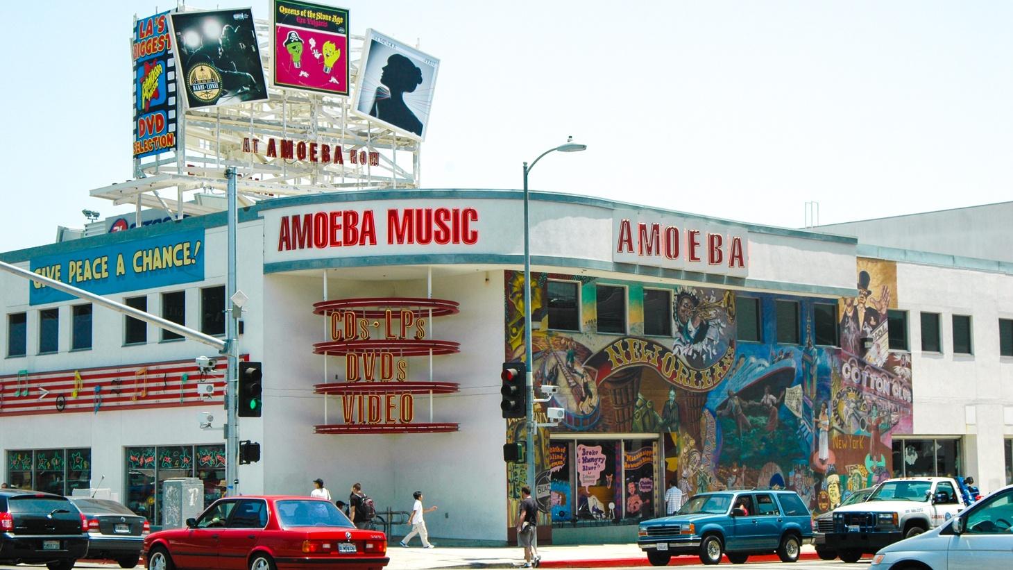 Amoeba Music Store in Hollywood, 2007.