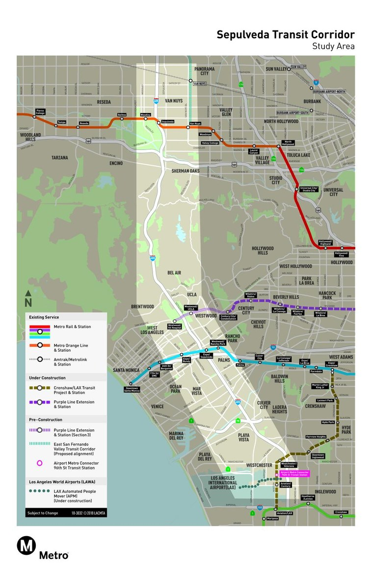 Lafc Subway Map.La S Solution To Its 405 Freeway Problem Greater La Kcrw