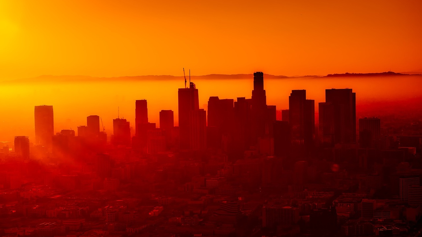 Los Angeles in a heat wave.