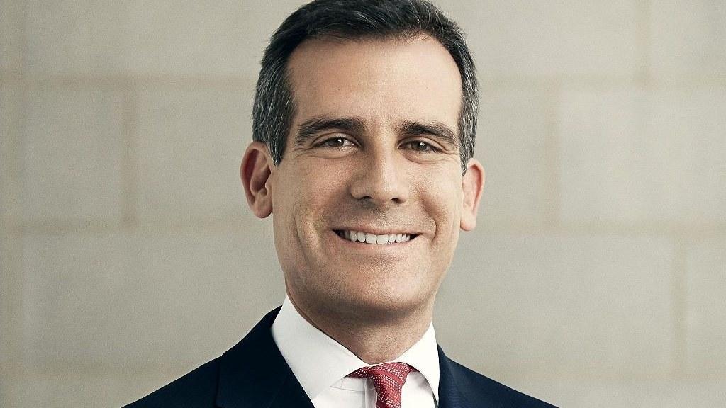 Mayor Eric Garcetti.