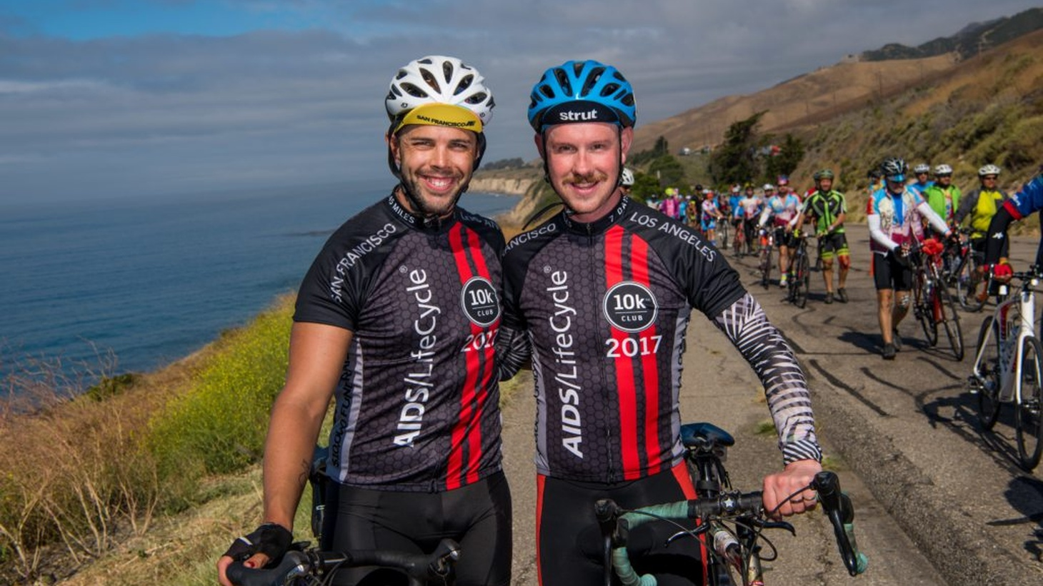 The AIDS/LifeCycle, a 545-mile bike ride from San Francisco to Los Angeles which raises awareness and funds for the ongoing HIV/AIDS epidemic, kicks off this weekend.