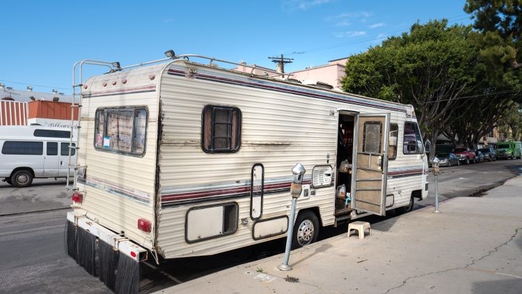 The return of parking regulation enforcement has made finding reliable and safe parking tougher for people who live in their cars, vans or RVs.