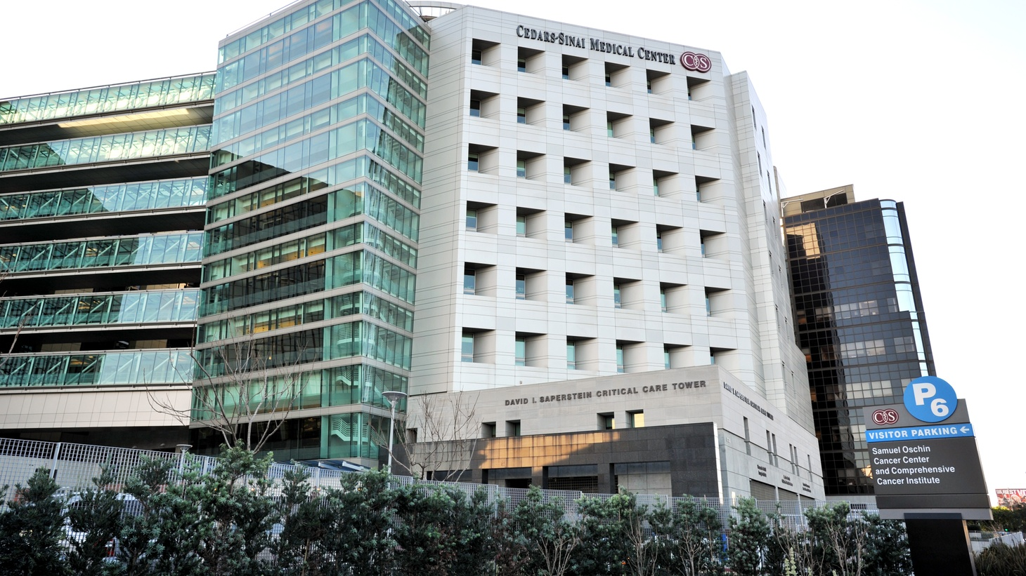 Cedars-Sinai's Saperstein Critical Care building houses the intensive care unit.