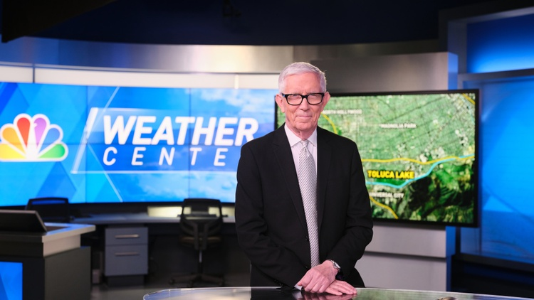 Fritz Coleman has been providing the weather on Channel 4 for nearly four decades.