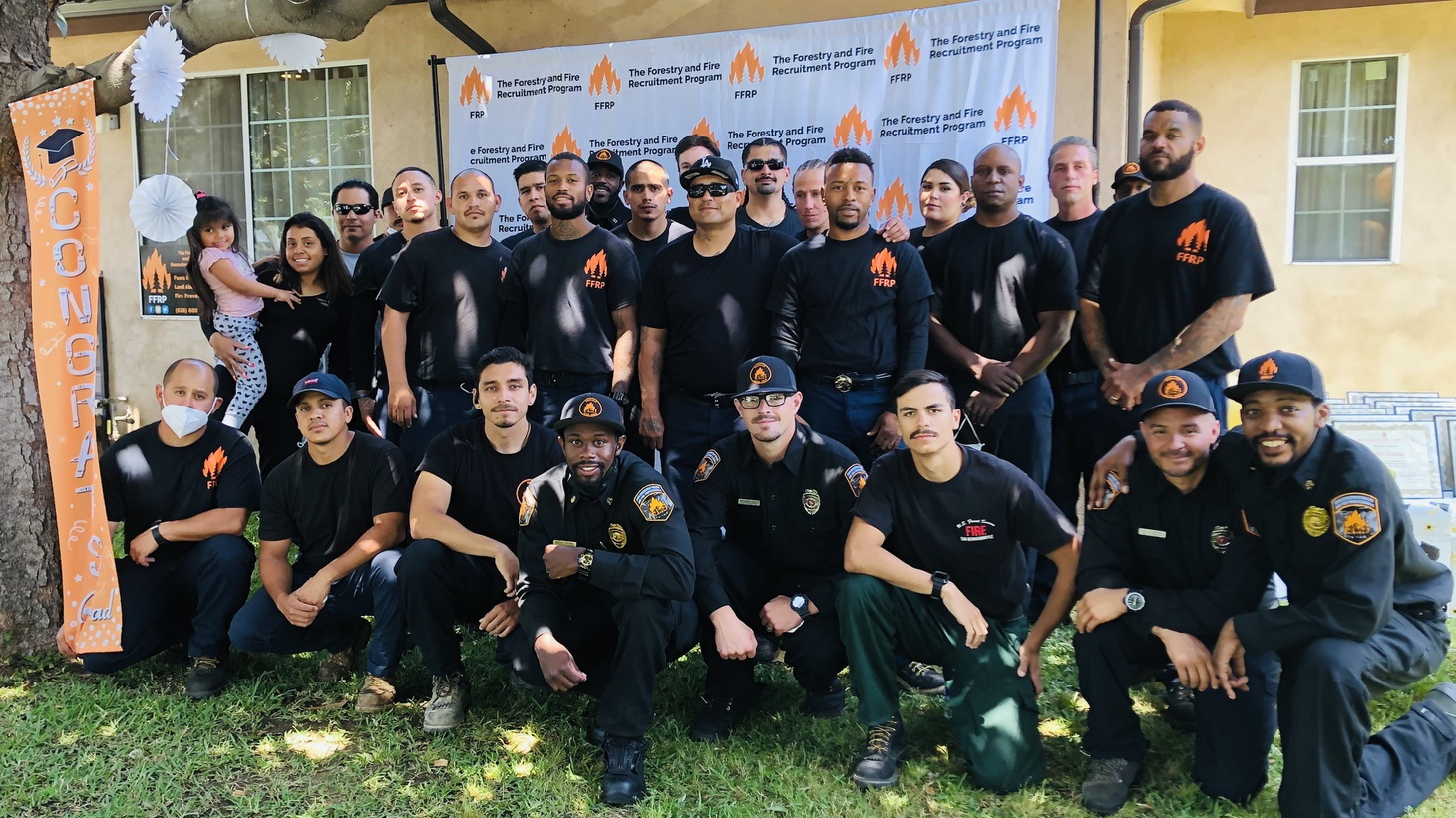 The Forestry and Fire Recruitment Program helps formerly incarcerated firefighters become professional wildland firefighters once they're home.