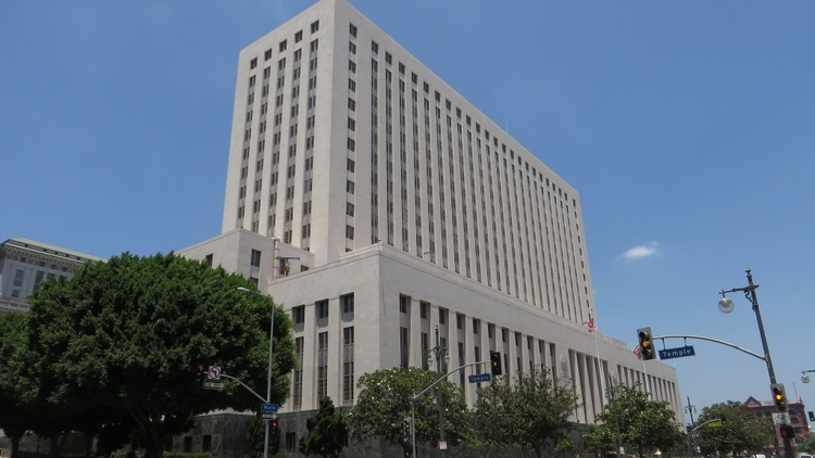 Due to COVID-19, LA County's criminal and civil trials are suspended, while entire courthouses are shut down.
