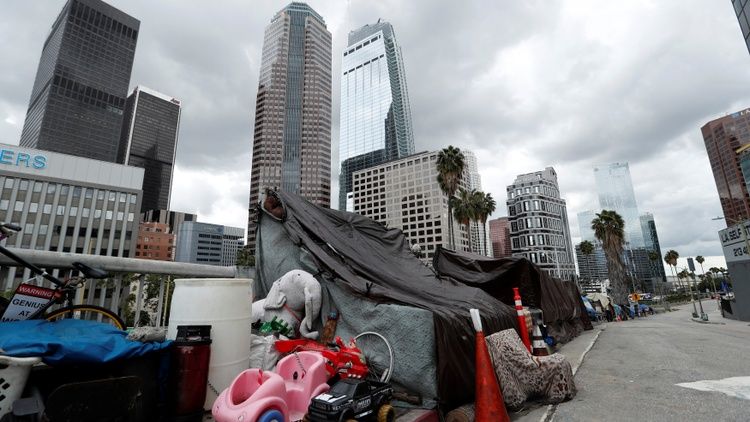More than 66,000 people now live on the streets of LA County, a 13% rise year over year. The numbers are up for the fifth time in six years.