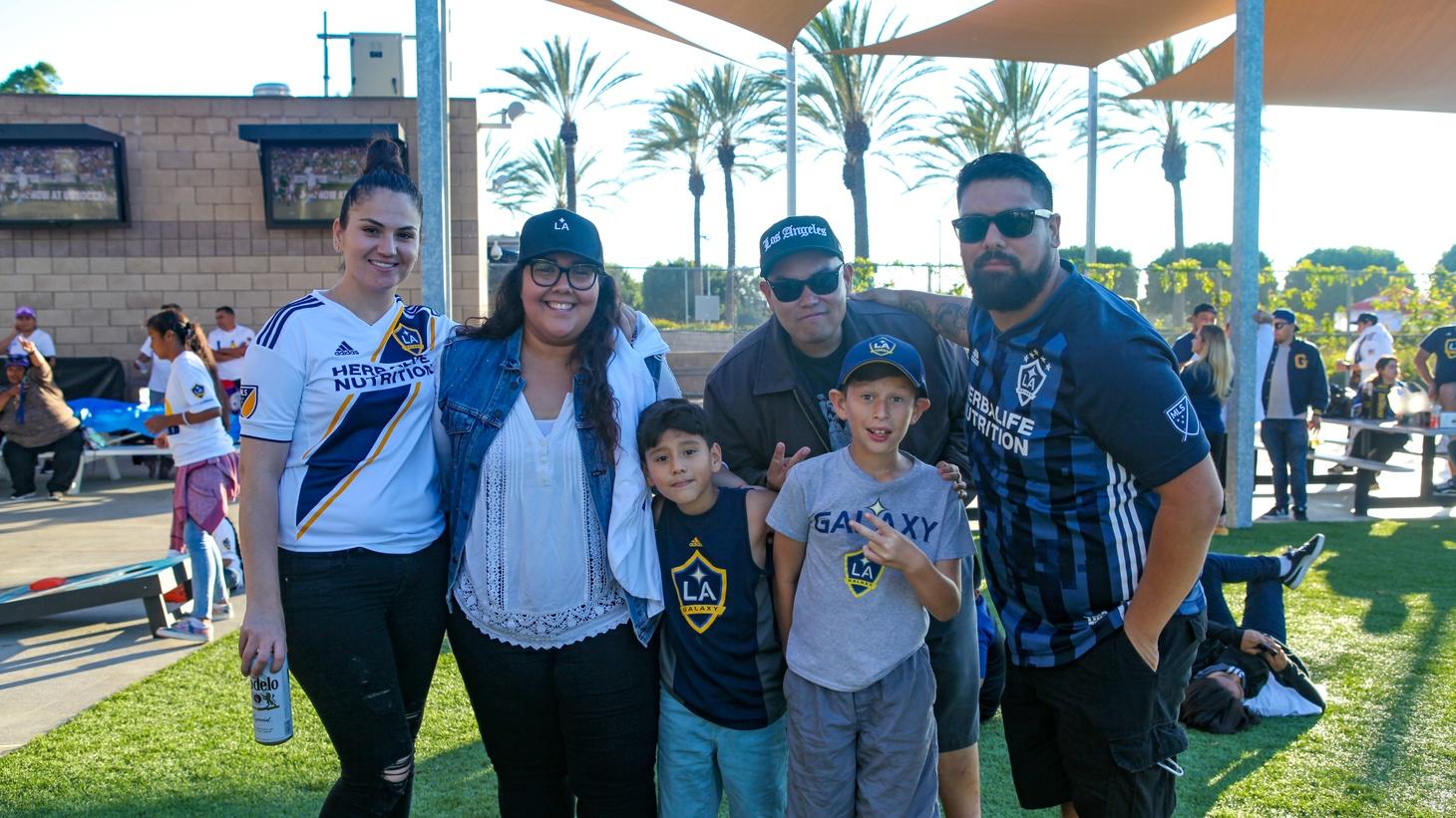 LA Galaxy fans.