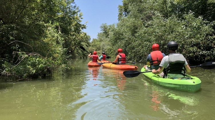 Today's show looks at various ways people can enjoy the summer across LA. First up, a kayaking trip down the LA River.