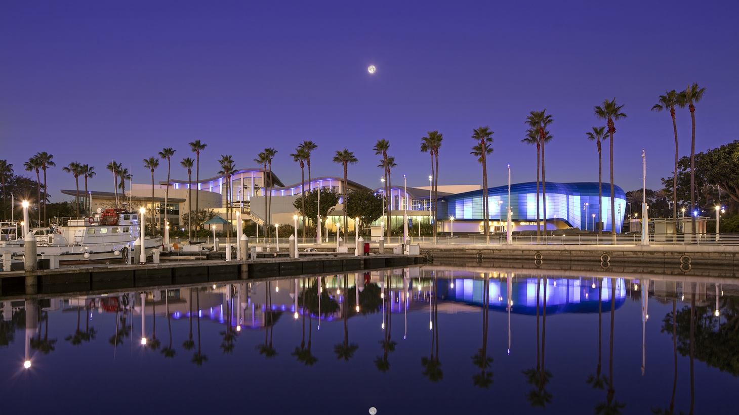 The Aquarium of the Pacific with its new Pacific Vision.