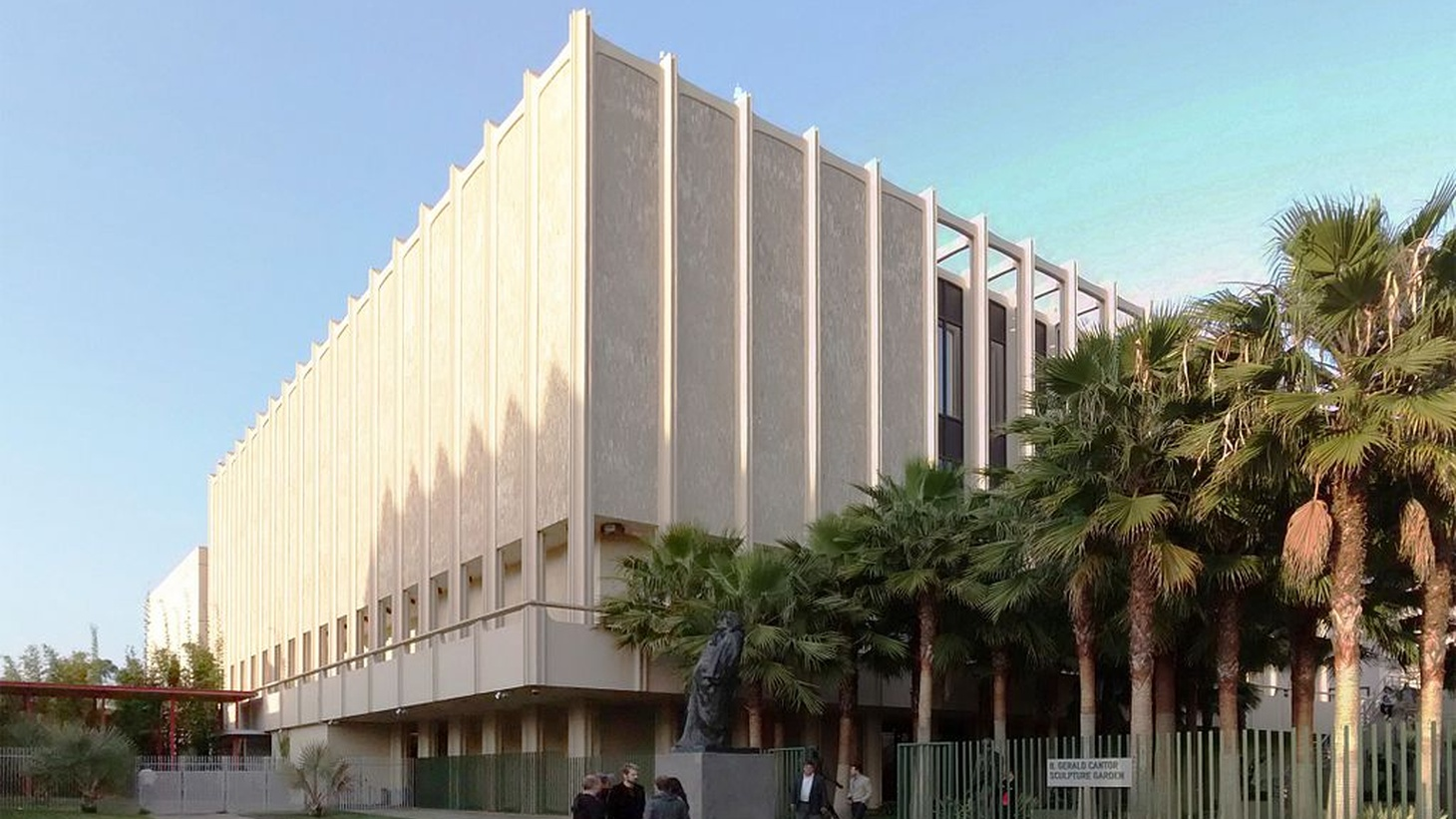 The Los Angeles County Museum of Art was designed by  William Pereira in 1965. Now four of the buildings at the museum are being demolished to make way for a new $750 million structure.