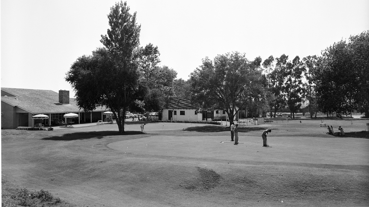 Willowick Golf Course, Santa Ana, July 1952.