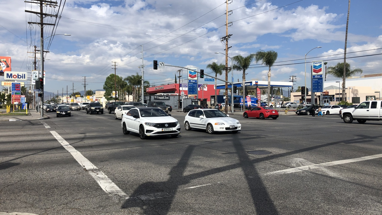The most dangerous intersection is located at Sepulveda Blvd. and Sherman Way in Van Nuys.
