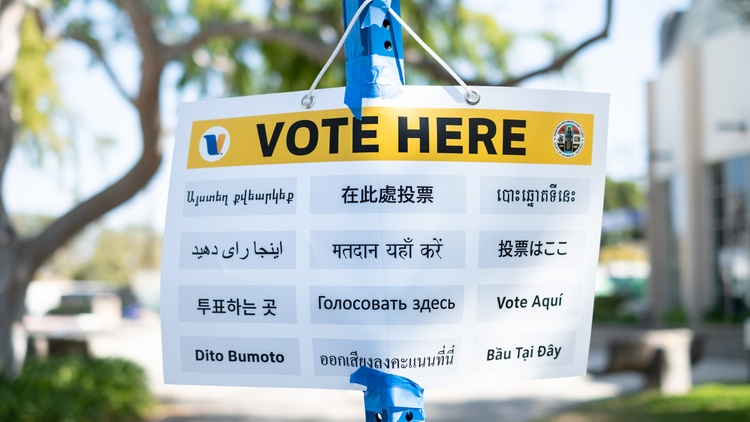 LA's new voting centers