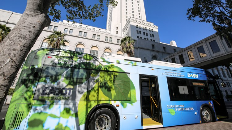 The LA Department of Transportation (LADOT) has ordered a fleet of 155 new electric buses. It's the largest single order of them ever made in the nation.