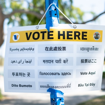 This year, L.A. replaced the traditional polling place with revamped voting centers. There aren't as many locations, but voters can go to any of them.