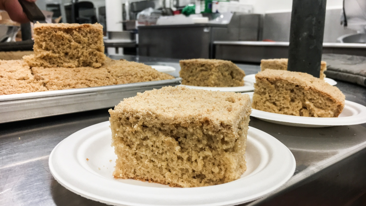 The LAUSD coffee cake.