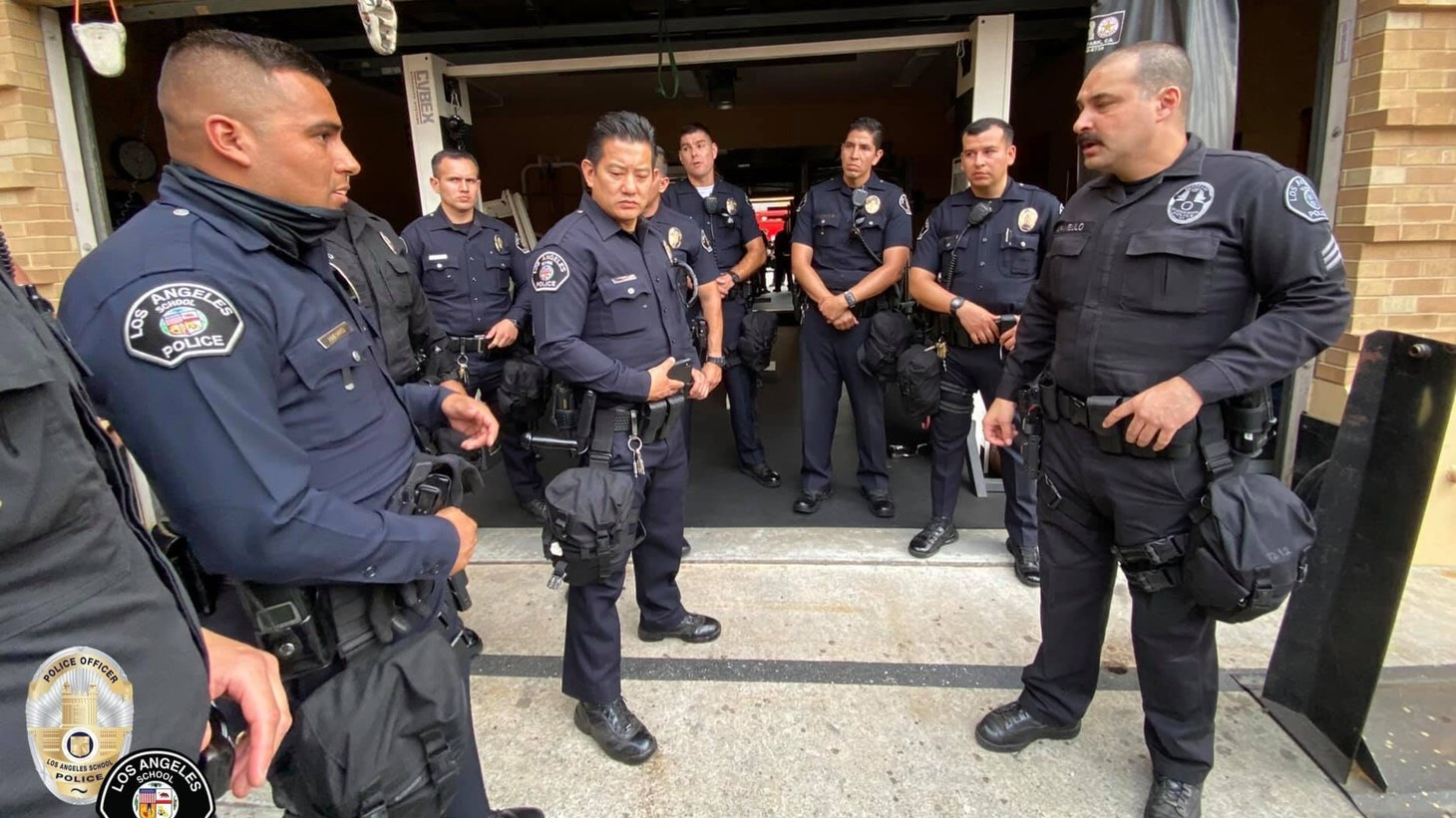 The LAUSD police force has more than 460 officers. Activists and the teachers union (UTLA) have called for that force to be eliminated.