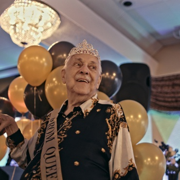 """""""Senior Prom"""" centers around residents of the Triangle Square Senior Housing in Hollywood, one of the oldest queer senior centers in the country."""