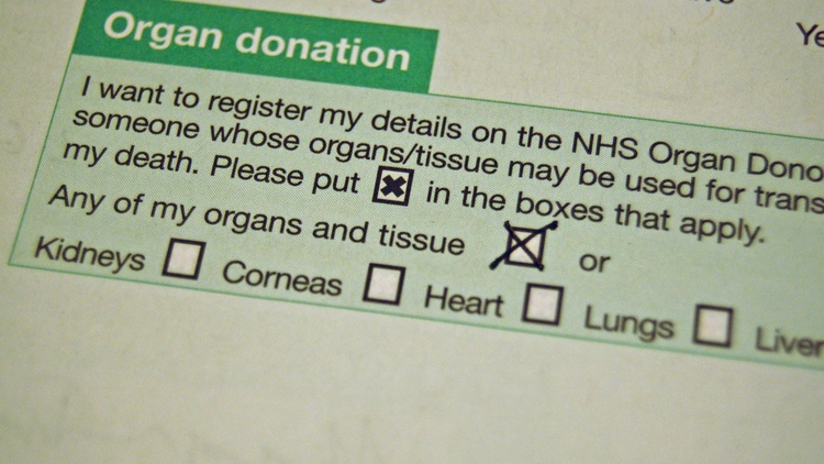 Did you tick the donor box when you got your driver's license?