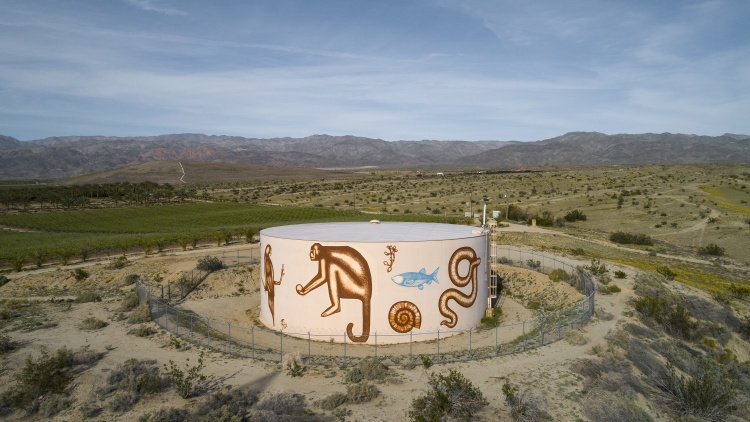 Desert X is a public art exhibition that happens every two years.