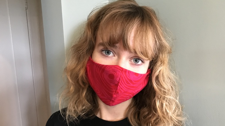 Amid the COVID-19 pandemic, many Angelenos are sewing face masks as a way to generate income and find a sense of purpose when life feels like it's coming apart at the seams.