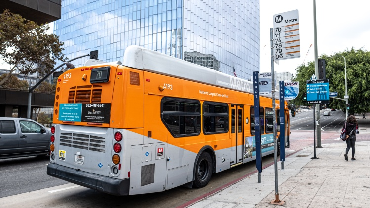 How are Angelenos who rely on buses and trains feeling about coronavirus? What are LA Metro officials doing to ensure that passengers are safe?