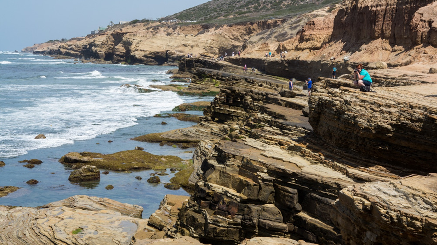 Tide pools at Point Loma, San Diego.
