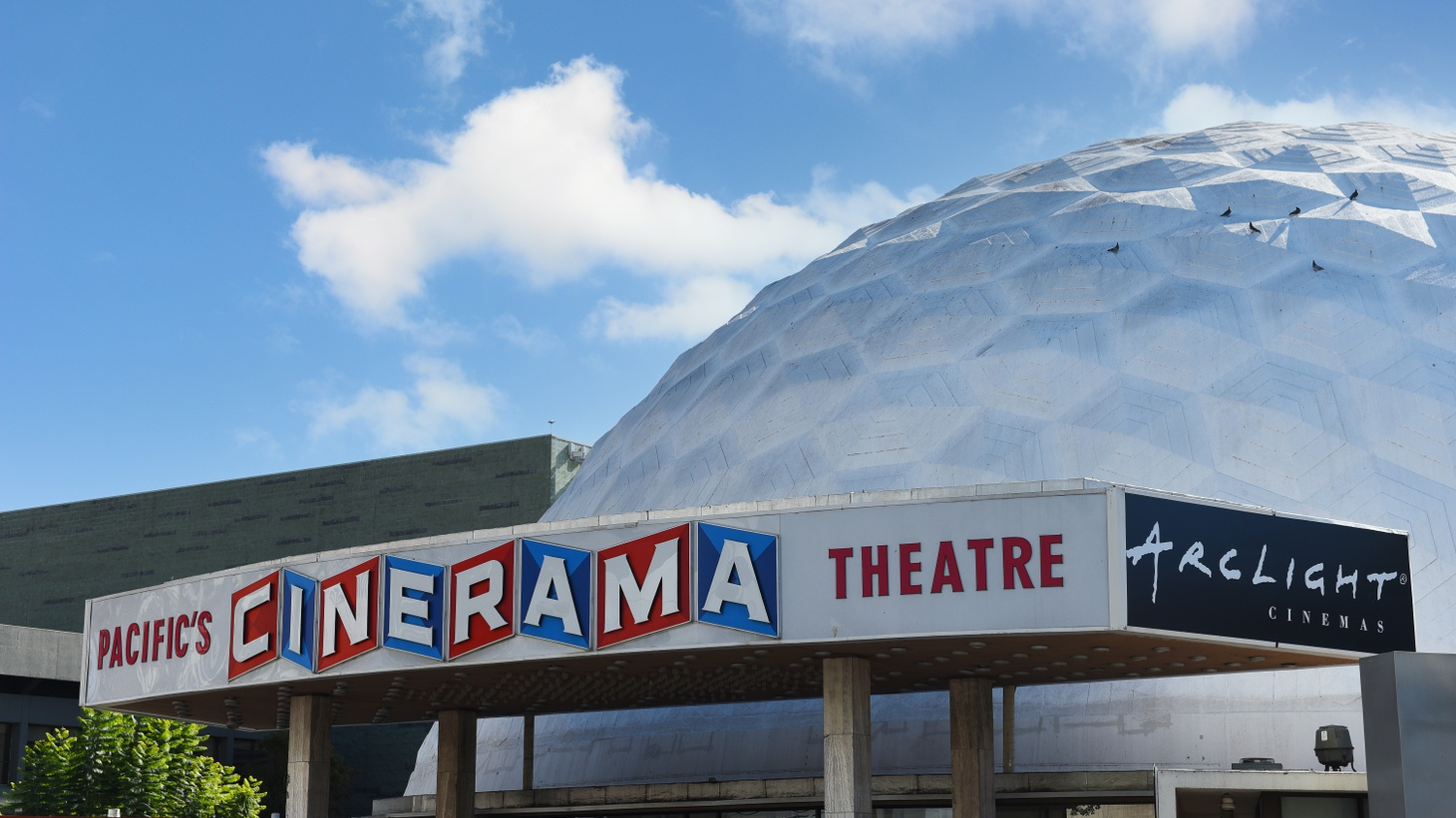The iconic Cinerama Dome on Sunset Boulevard is shutting down permanently.