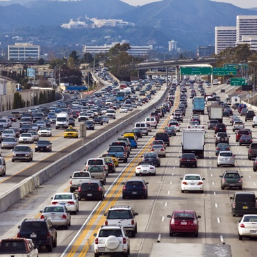 People working from home found other excuses to get in their cars.
