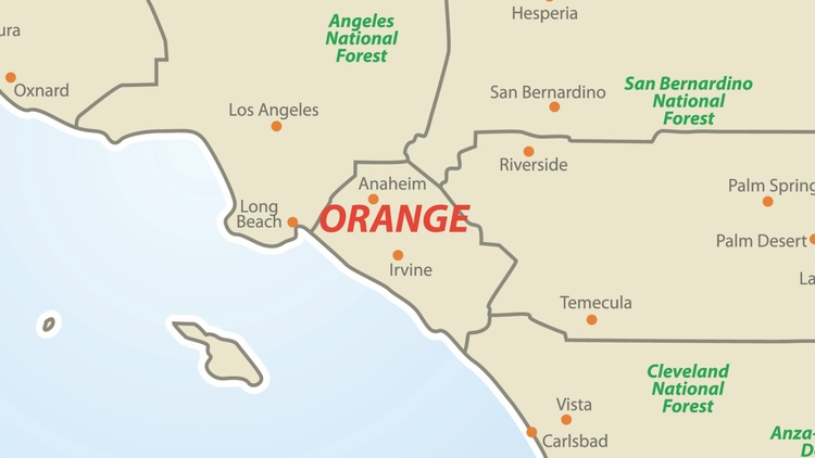Orange County Supervisors will soon be voting on a new map for its five supervisor districts.