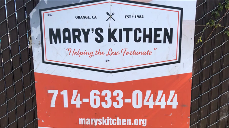 The organization, led by 82-year-old Gloria Suess, has spent more than 25 years serving three meals a day and providing restroom facilities to unhoused people in Orange.