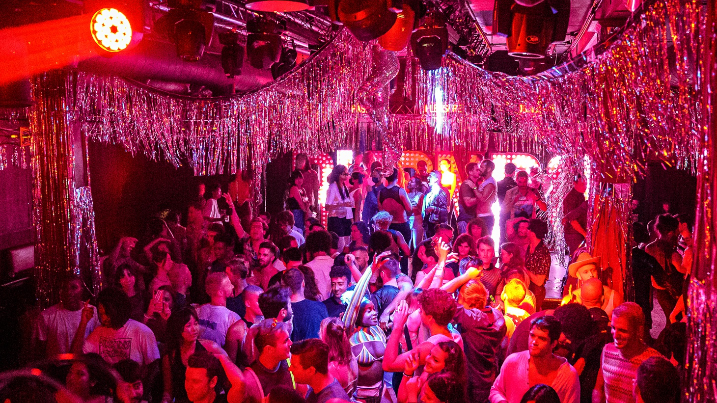 Clubbers hit the dance floor at A Club Called Rhonda in Los Globos in Silver Lake.
