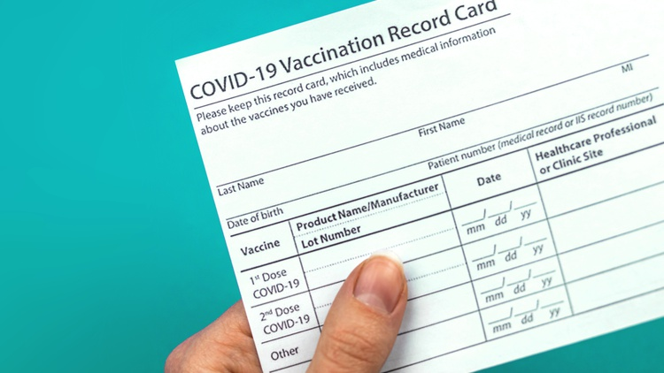 Anti-vaccine groups are spreading information online about where to buy forged cards and instructions on how to print your own, says reporter Sheera Frenkel.