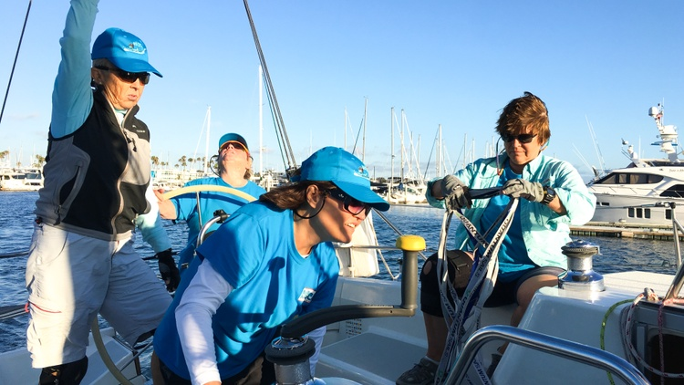 The Sundown Series is an amateur sailboat race open to anyone, and it costs $5 to enter. The race occurs on the third Friday of every month from May to September.